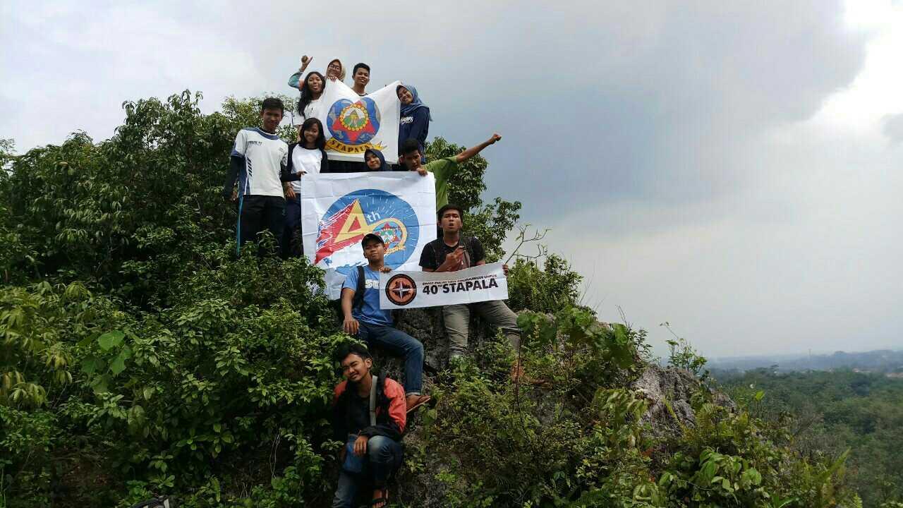 Pemanjatan Tebing Ciampea dalam rangka 40 Titik Perjalanan