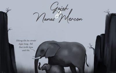 Gajah dan Nanas Mercon
